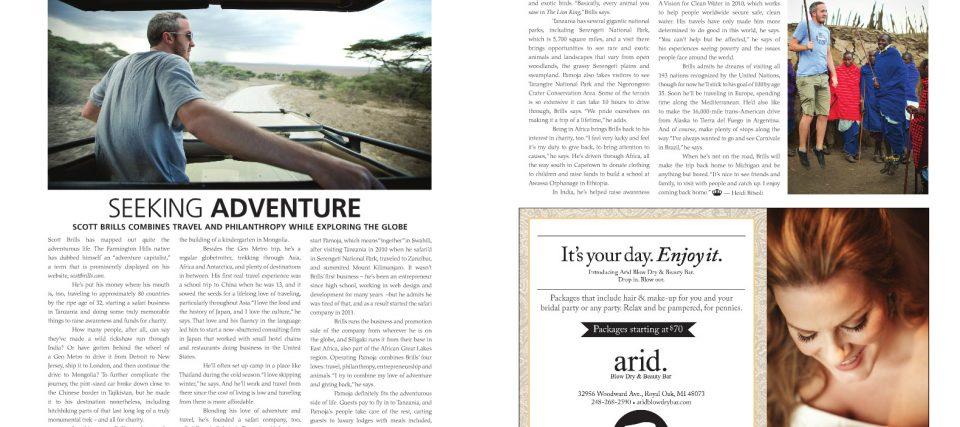 Scott Brills' Feature in Ambassador Magazine