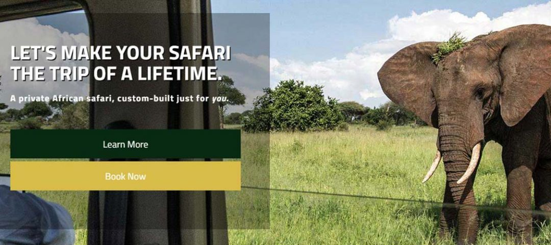 New Pamoja Safaris Website